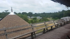 View From Traditional Longhouse